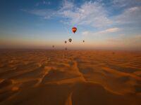 DXB Baloon desert pexels