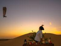 DXB dinner in the desert shutterstock